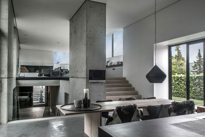 A Modern Home in Concrete, Timber and Glass - Nordic Design | Home .