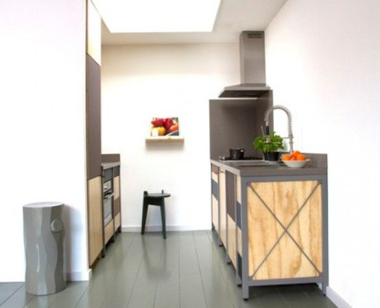 Constructive Kitchen With Industrial And Minimalist Touches (com .