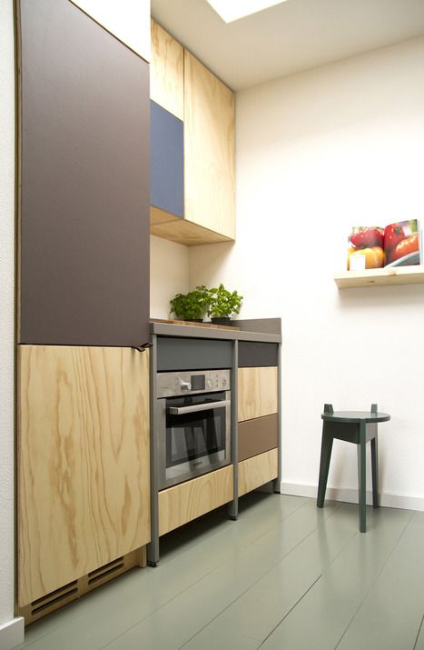 Constructive Kitchen With Industrial And Minimalist Touches .