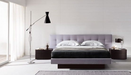 Contemporary Bedroom Layouts with MisuraEmme's Beds (With images .