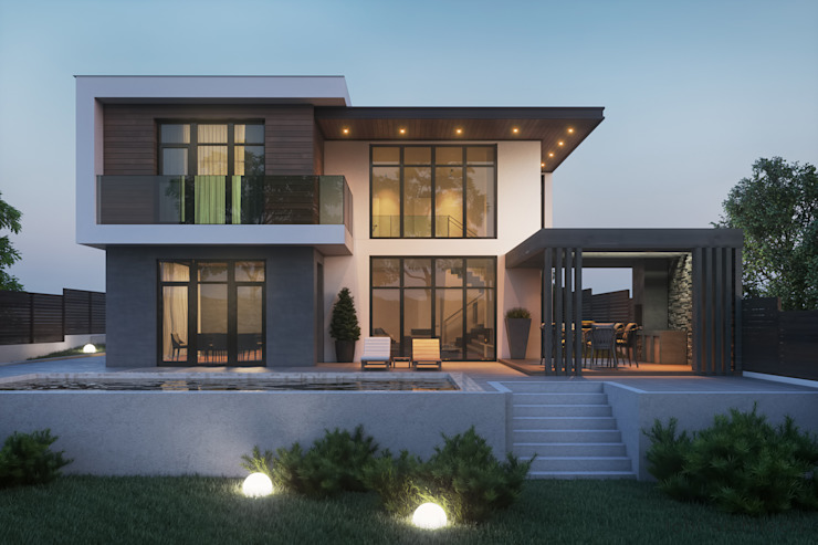 A very modern family home (with floor plans)   homify   homi