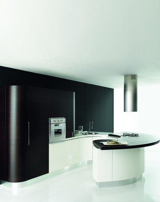 Contemporary Kitchen Furniture By Aran Cucine   Diseño de cocina .