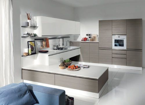 Contemporary kitchen / wood / lacquered / high gloss MASCA EVO .