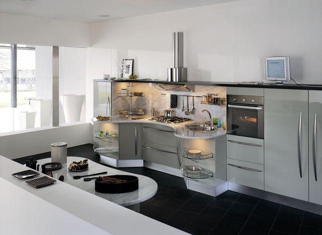 Slideshow: Snaidero Universal Design Kitchens   Dwell .