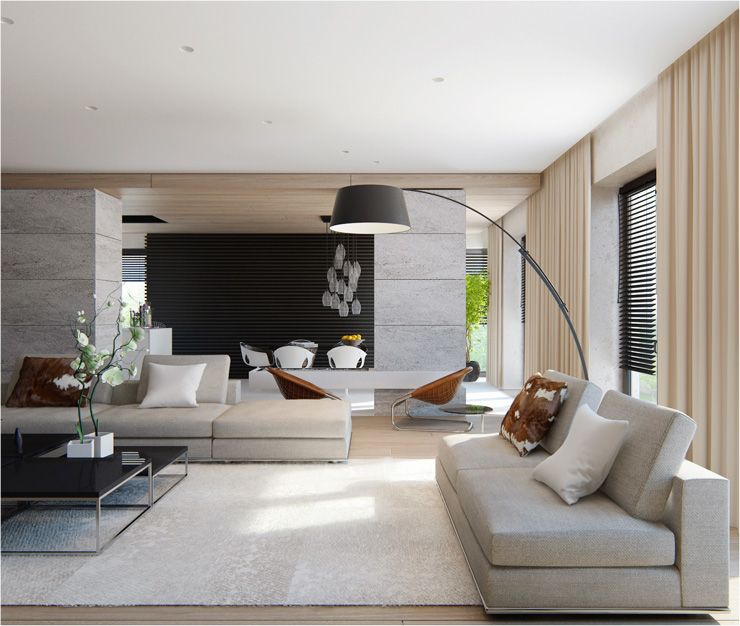 30 Magnificent Contemporary Living Room Designs by Alexandra .
