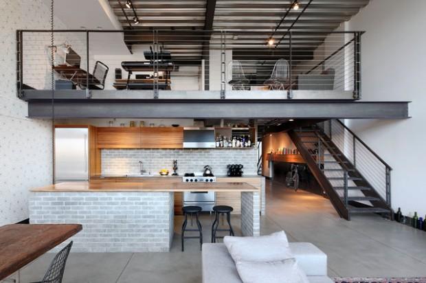 21 Contemporary Loft Apartment Design Ide