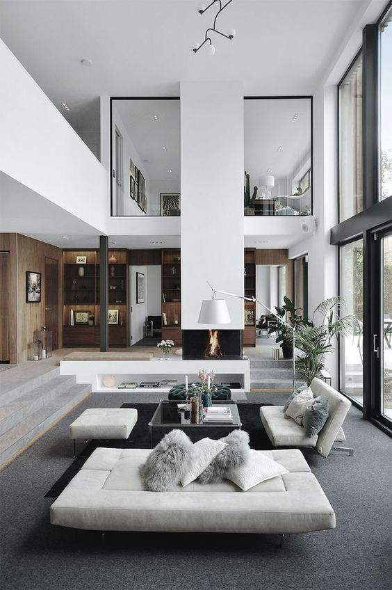 Luxury Loft Apartment Décor Inspirations - Modern and Contemporary .