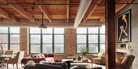 Sophisticated Lofts - Loft Apartment Design Ide