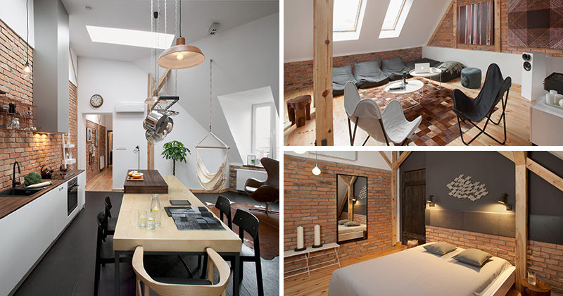 This Contemporary Loft Apartment Was Built Inside A 19th Century .