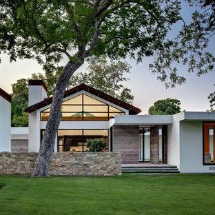1960 Ranch House Exterior Ideas & Photos | Hou
