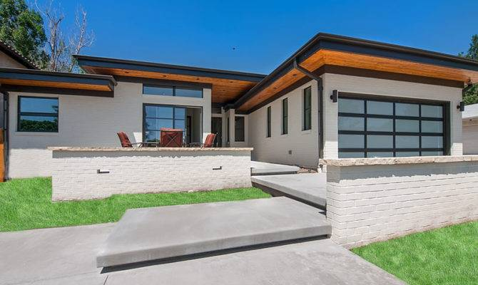 Stunning Modern Ranch Houses Ideas - House Pla