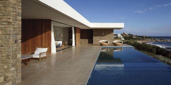 Contemporary stone residence in José Ignacio   Architecture .