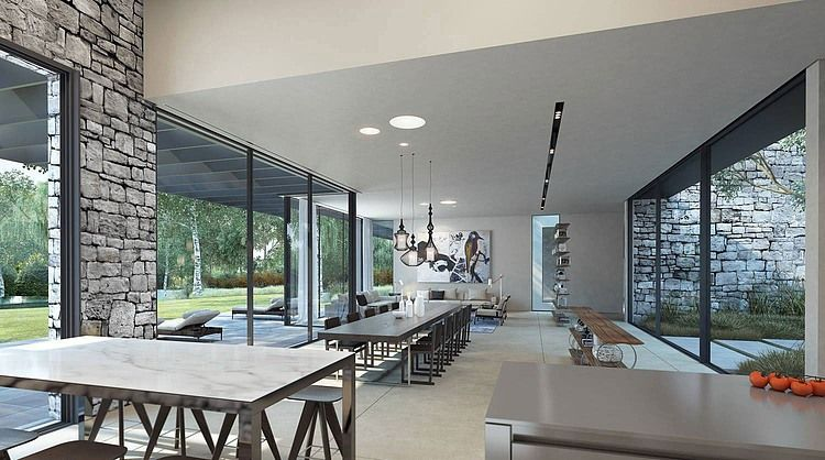 Stone Residence by Ando Studio   HomeAdore   Home, Ultra modern .