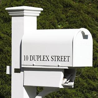"Good Directions, Inc. 093422806596 21"" White Duplex Street ."