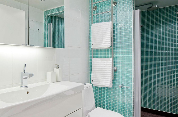 Scandinavian Design: Contemporary White Duplex Apartment in Stockho