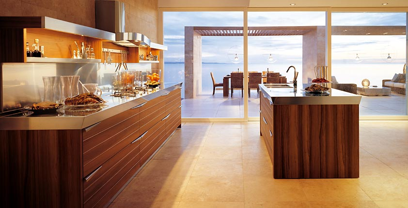 Contemporary Wooden Kitchen Inspirations - DigsDi