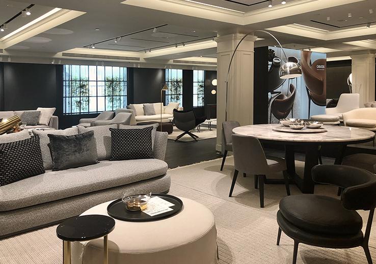 Harrod's: New Luxury Gallery | B&B Ital