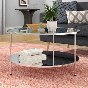 Tufted Leather Coffee Table | Wayfa