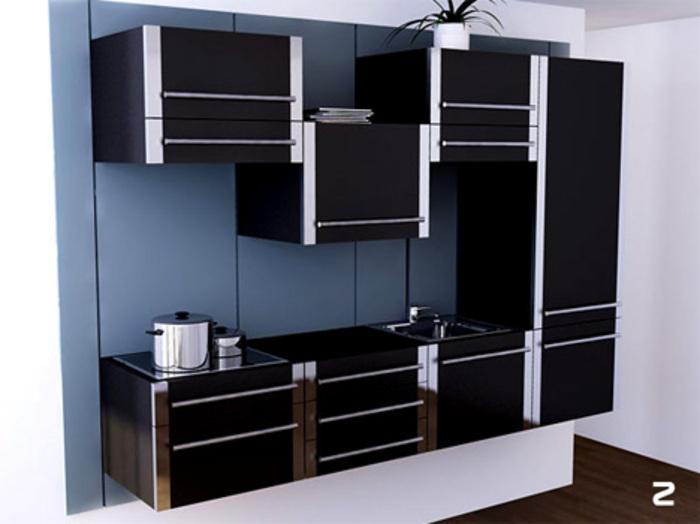 Modular Space-Saving Kitchen Transforms | Designs & Ideas on Dorn