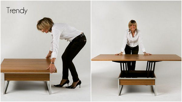 coffee table that converts to a dining table ikea - saw this on .