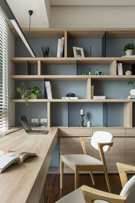 34 Cool And Thoughtful Home Office Storage Ideas | Home office .