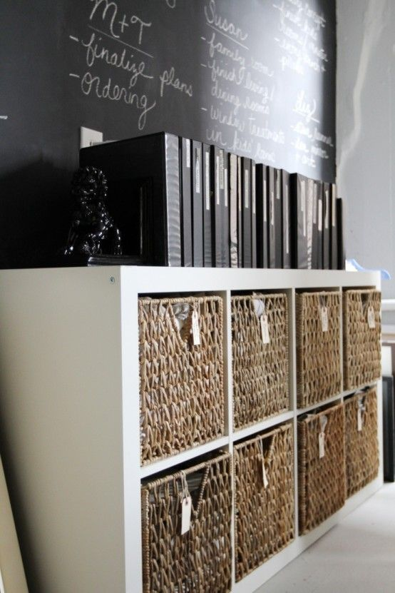 43 Cool And Thoughtful Home Office Storage Ideas | Home office .