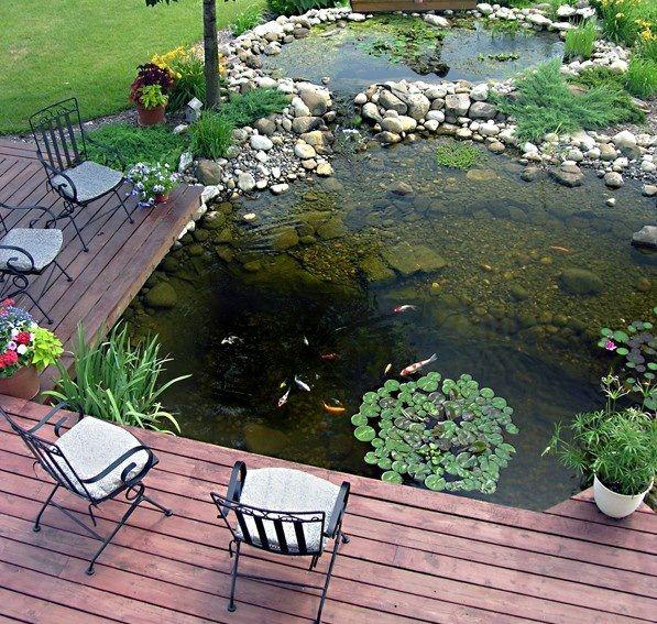 53 Cool Backyard Pond Design Ideas | DigsDigs | Garden pond design .