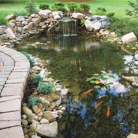 53 Cool Backyard Pond Design Ideas | DigsDigs | Fish pond gardens .