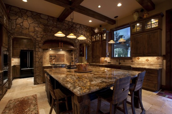 big kitchen interior design ideas, pictures for inspirati