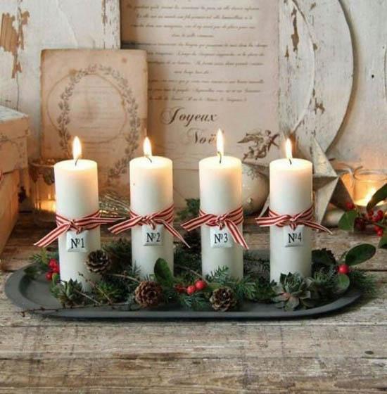 Top Christmas Candle Decorations Ideas - Christmas Celebration .