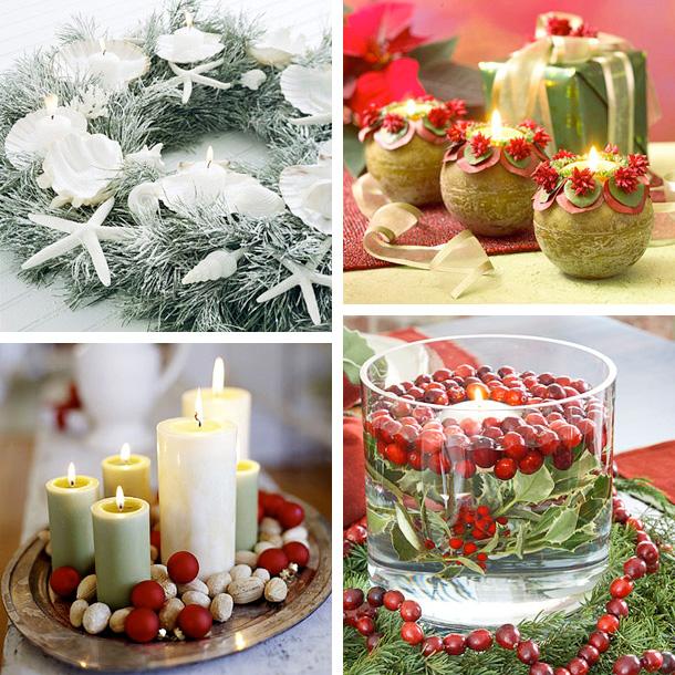 25 Cool Christmas Candles Decoration Ideas - DigsDi