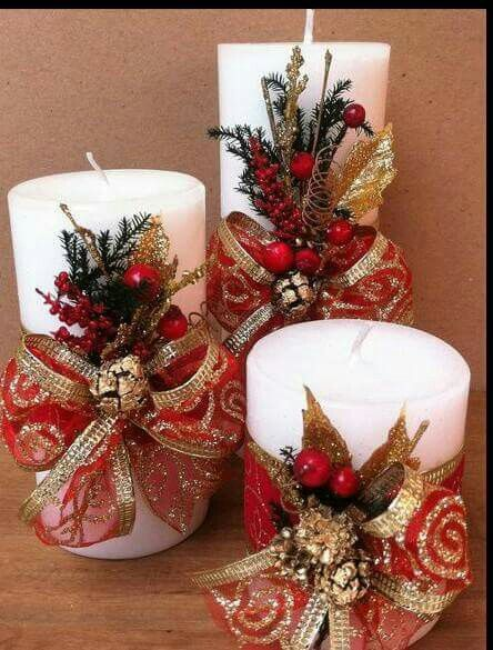 30 Cool Christmas Candle Decoration Ideas You'll Love in 2020 .