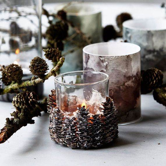 Easy and Elegant Christmas Candle Decorating Ideas | family .
