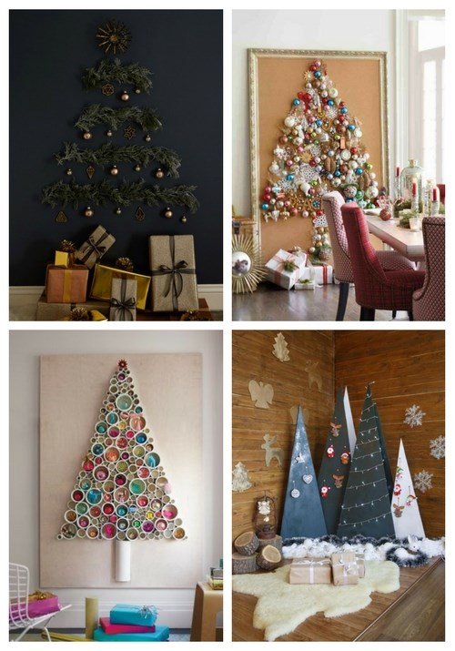 25 Coolest Christmas Tree Alternatives | ComfyDwelling.c