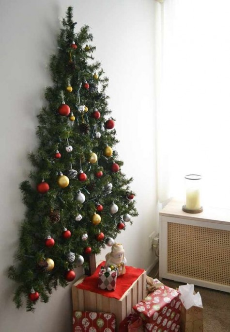 30 Christmas Tree Alternatives That You'll Love - Shelterne