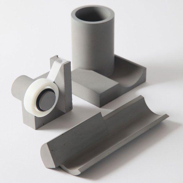 Concrete Pen Holder - Desk Accessory | Macetas de concreto .