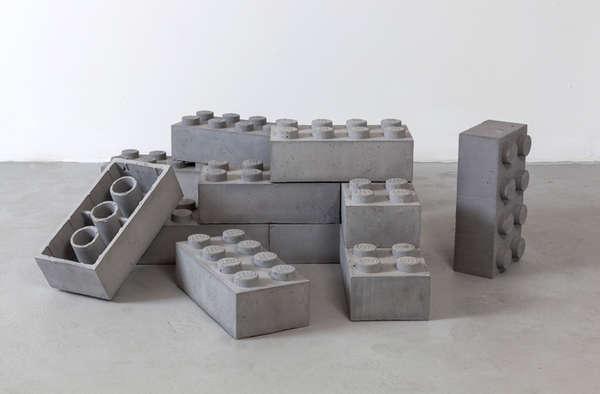 25 Concrete Desk Accessori