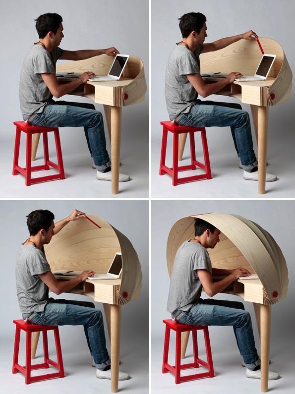 15 Creative Desks and Cool Desk Designs. | Creative desks, Desk .