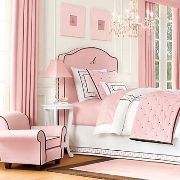 12 Cool Ideas For Black And Pink Teen Girl's Bedroom   Kidsoman