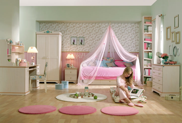 15 Cool Ideas For Pink Girls Bedrooms   My desired ho