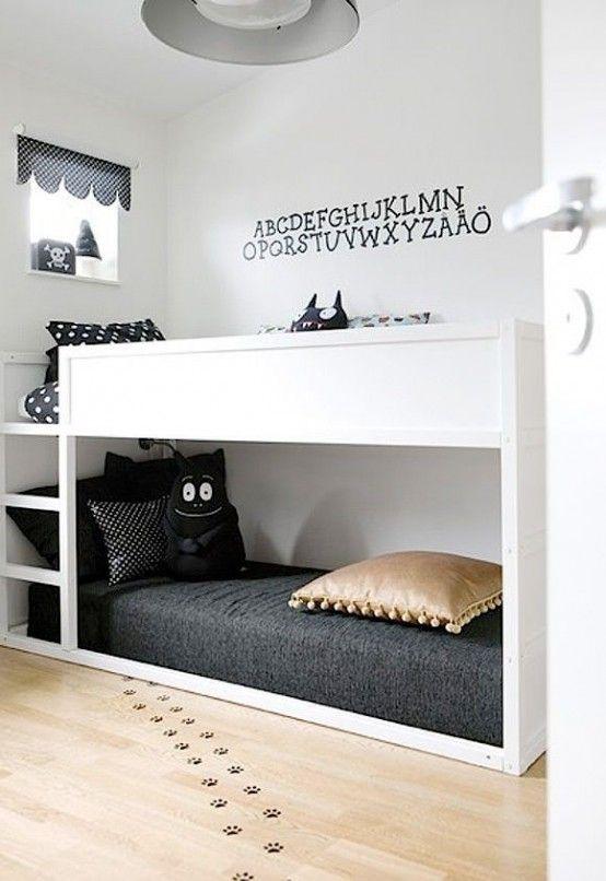 35 Cool IKEA Kura Beds Ideas For Your Kids' Rooms - DigsDigs .