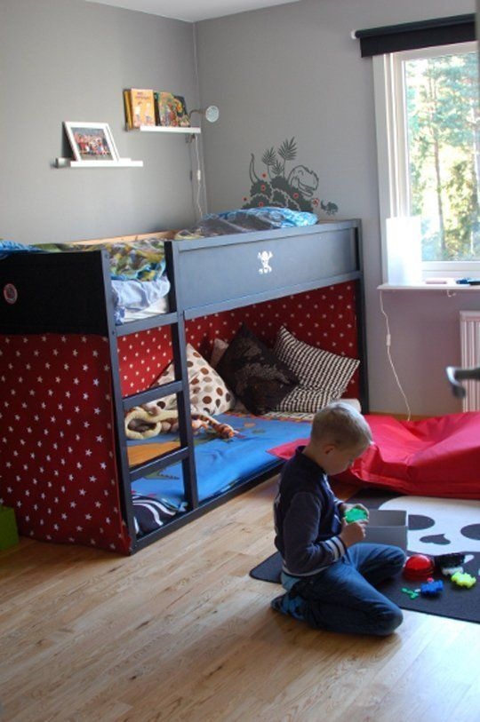 35 Cool IKEA Kura Beds Ideas For Your Kids' Rooms - DigsDigs   Bed .