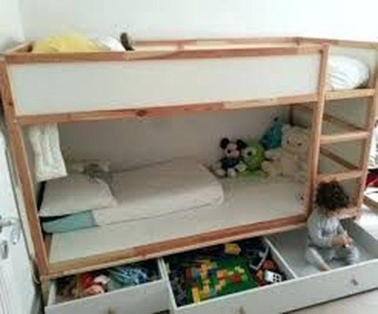 Cool Ikea Kura Beds Ideas For Your Kids Rooms 16   Ikea kura bed .