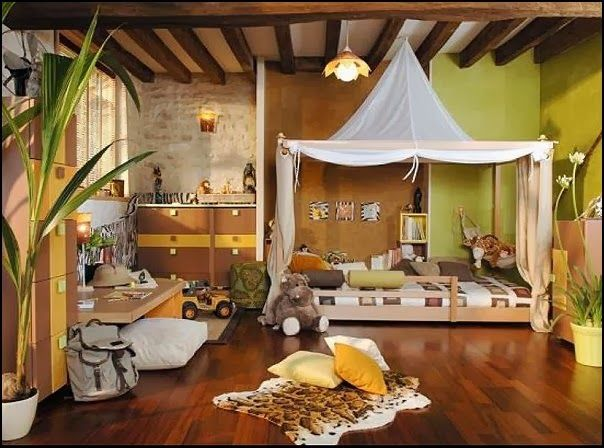 17 Awesome Kids Room Design Ideas Inspired From The Jungle | Kids .