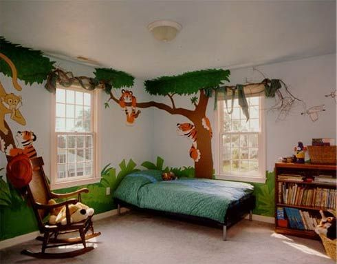Not much going on except on the walls. | Kids interior room, Kids .