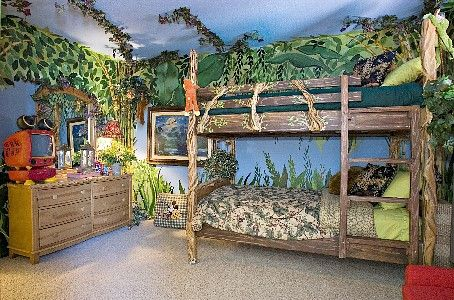 I will have a jungle room in my someday house. Probably the kids .