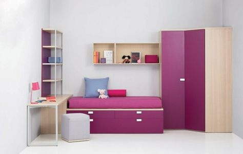 17+Cool+Junior+Room+Design+Ideas | Kids bedroom inspirati