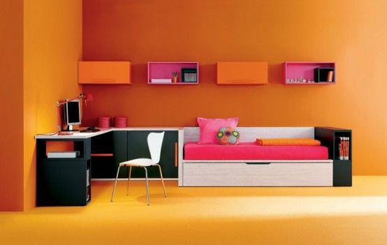17 Cool Junior Room Design Ideas | Tasarım evler, Mobilya, Ev iç