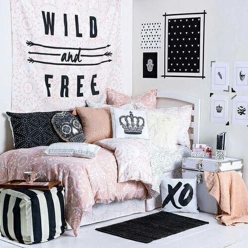 Cute junior girl bedroom #cute #Comfty #girl #junior | Cool dorm .