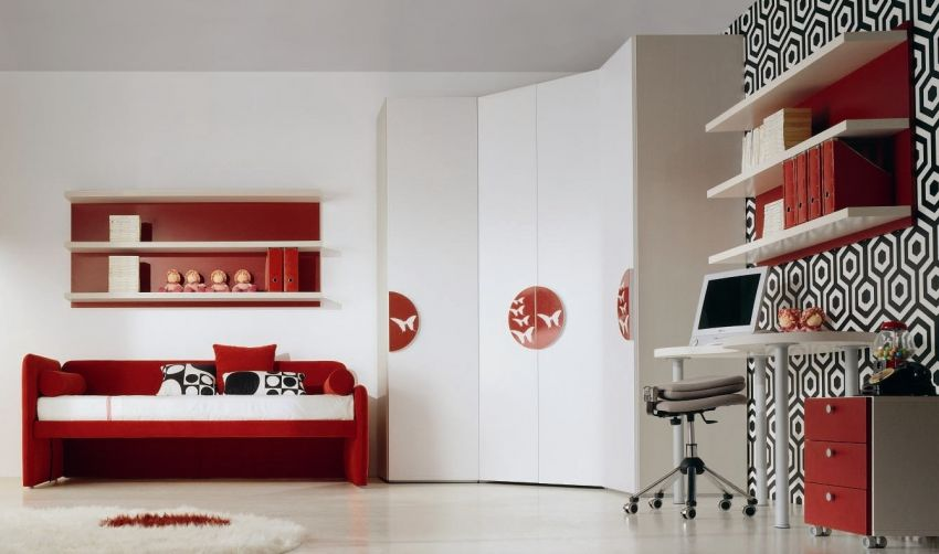 13 Cool Kids Bedrooms - Letti Singoli Collection from Di Liddo .